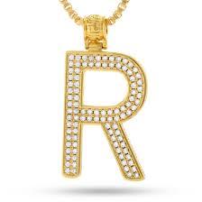 14k gold letter