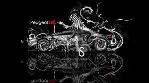 peugeot onyx wallpaper peugeot onyx 2013 fantasy lion smoke power hd wallpapers by tony