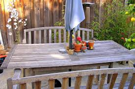 Two Dogs Designs Patio Furniture - how to clean and care for wood garden furniture