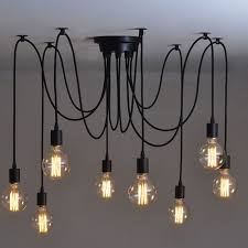 Best Place To Buy Ceiling Lights 8 Heads Vintage Industrial Ceiling L Edison Light Chandelier