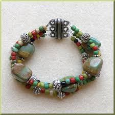 multi bracelet images Sip bead turquoise multi strand bracelet casa larga jpeg