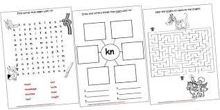 cvc worksheets th blend kindergarten phonics bundle version2 pag