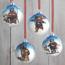 Pre Lit Polar Bear Christmas Decoration Set Of 3 by Raz Christmas Decorations And Ornaments Retail Online Store