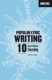 Steps To Write Resume Popular Lyric Writing Berklee Press