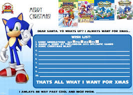List Of All Memes - sonic 20th anniversary christmas wish list meme by pepsiboy3 on