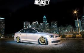 volkswagen jetta stance vw volkswagen jetta mk6 votex bagged rotiform air suspension ride