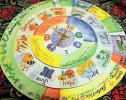 Liturgical Desk Calendar Christian Calendar Etsy