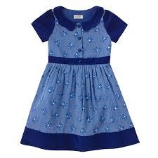 speckled bows girls velvet collar dress clothing cathkidston