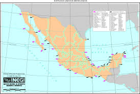 Oaxaca Mexico Map Aiosearch Ports Of Mexico Map