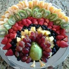 vegan turkey or just a really fruit display for