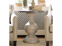 Traditional Accent Unique Round Accent Table Increasing Antique Decoration Setting