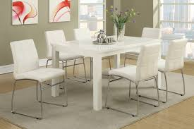 White Modern Dining Room Sets White Wood Dining Table Steal A Sofa Furniture Outlet Los Angeles Ca