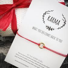 bracelet red images Little karma gold and red wish bracelet medium circle keshinomi JPG