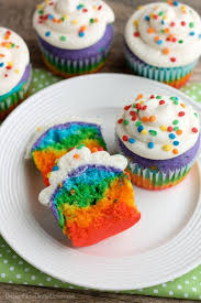 rainbow cupcakes video dessert now dinner later