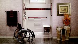 barrier free showers and roll in showers in new jersey