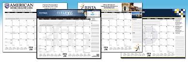 desk pad calendar grids