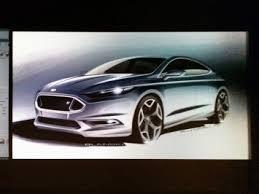 with ford fusion exterior designer dillon blanski car