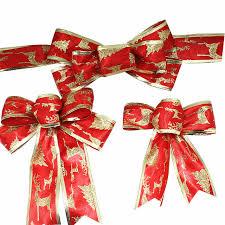 christmas ribbon bows christmas ribbon bow christmas tree decoration handmade