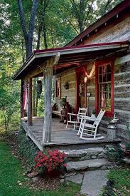 Cottage Front Porch Ideas by Best 25 Rustic Porches Ideas On Pinterest Rustic Landscaping