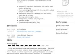 Subway Resume Sample by Subway Job Description Resume Reentrycorps