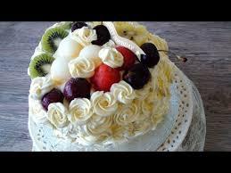 how to make rose cake chinese bakery birthday cake