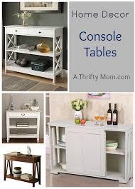 Decor Console Tables - Thrifty home decor