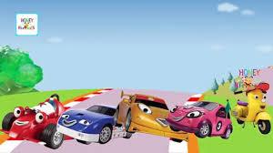 roary racing car monster truck cartoon animation finger
