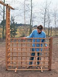 Wooden Trellis Panels How To Create A Rose Trellis Arch How Tos Diy