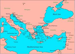 Map Of Venice Veniceandtheeasternmediterranean