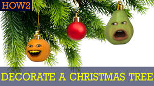 how2 how to decorate a christmas tree youtube