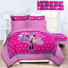Bed Minnie Mouse Twin Bedding Set Home Design Ideas