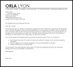 Cover Letter Sample For Mechanical Engineer Resume by Wireless Engineer Cover Letter