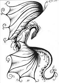 feminine dragon designs for tattoos google search dragon