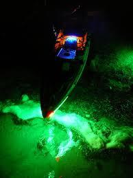 Kayak Night Lights A Redfish Fool Of Trout U2013 The Ack Blog