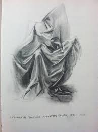 Leonardo Da Vinci Drapery Art By Michale Warren March 2013