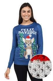 thanksgiving dog sweater women u0027s feliz navidog swarovski sweater tipsy elves