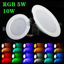 aliexpress com buy best rgb 5w 10w led ceiling panel light ac85