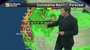 Weather Map Los Angeles by News West Coast Pacific Storms Back With More Rain And Snow