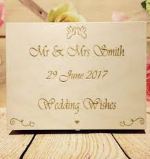wedding wishes book box 120 hearts wedding guest book box wooden heart wishes