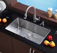 16 Gauge Kitchen Sink by Kraus Khu100 32 32 Inch Undermount Single Bowl 16 Gauge Stainless