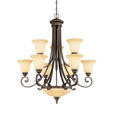 Home Depot Bronze Chandelier Millennium Lighting 11 Light Rubbed Bronze Chandelier With