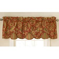 kitchen curtain valances ideas waverly curtains and drapes home the honoroak