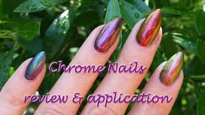 aora chrome nails review application tips u0026 removal youtube