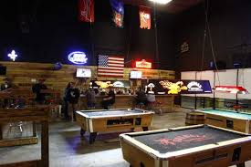 Big Game Room - think u2014 and drink u2014 big at new round up