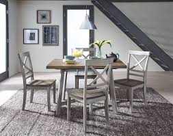 rustic grey coffee table fairhaven rustic grey dining table set from standard furniture