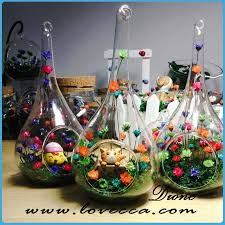 Bubble Vases Wholesale Wholesale Flower Shaped Glass Vase Glass Vase With Decoration
