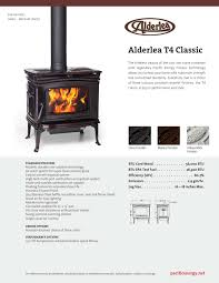 pacific energy alderlea t4 classic home heating headquarters