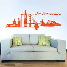 style and apply san francisco skyline wall decal 391603269433 style and apply san francisco skyline wall decal