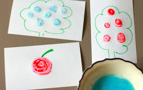 three ingredient scratch and sniff paint crafts for kids pbs