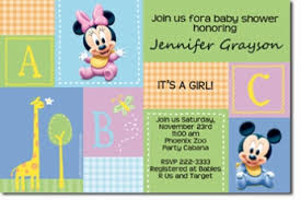 mickey mouse baby shower invitations top 14 mickey mouse baby shower invitation which viral in 2017